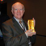 Lorimer Wilson with Gold Bar