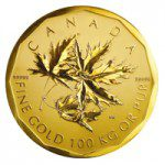 100kggoldcoin