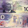 COPY PHOTO OF DESIGN OF NEW CANADIAN 1O DOLLAR BILL
